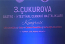 Our Hospital Participated in 3rd Çukurova Gastrointestinal Surgical Diseases Congress